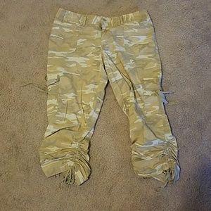 Lane Bryant size 16 camo ankle pants